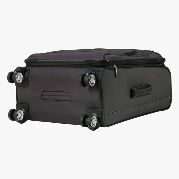 Medium Check-In Mar Vista 24-Inch Check-In Suitcase in Graphite Bottom View in  in Color:Graphite in  in Description:Bottom