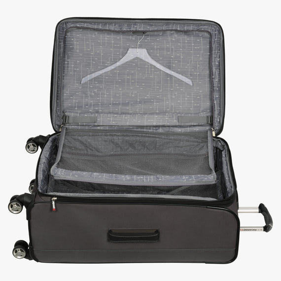 Large Check-In Mar Vista 28-Inch Check-In Suitcase in Graphite Alternate Open View in  in Color:Graphite in  in Description:Open Detail