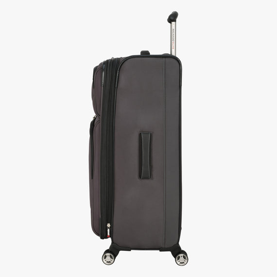 Large Check-In Mar Vista 28-Inch Check-In Suitcase in Graphite Side View in  in Color:Graphite in  in Description:Side