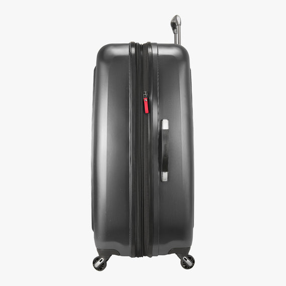 Large Check-In Ricardo Beverly Hills 29-inch Spinner Upright in Grey in  in Color:Grey in  in Description:Side