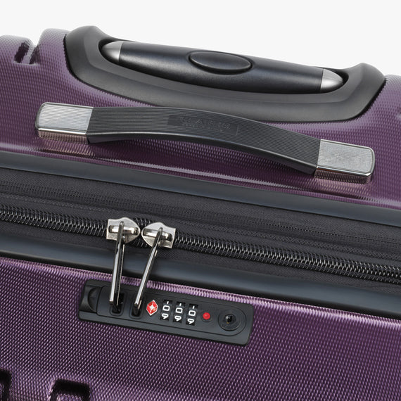 Large Check-In Yosemite 29-inch Check-In Suitcase in Plum TSA Lock in  in Color:Plum in  in Description:TSA Lock
