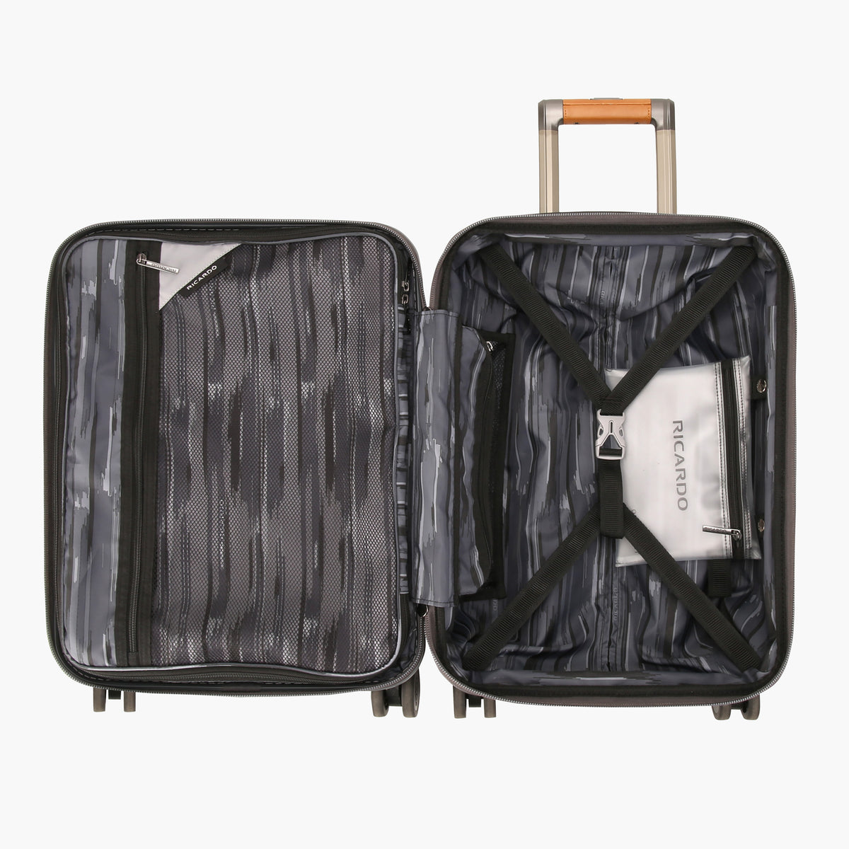 7acc579edc93 Ocean Drive Mobile Office Carry On Spinner Suitcase – Ricardo ...