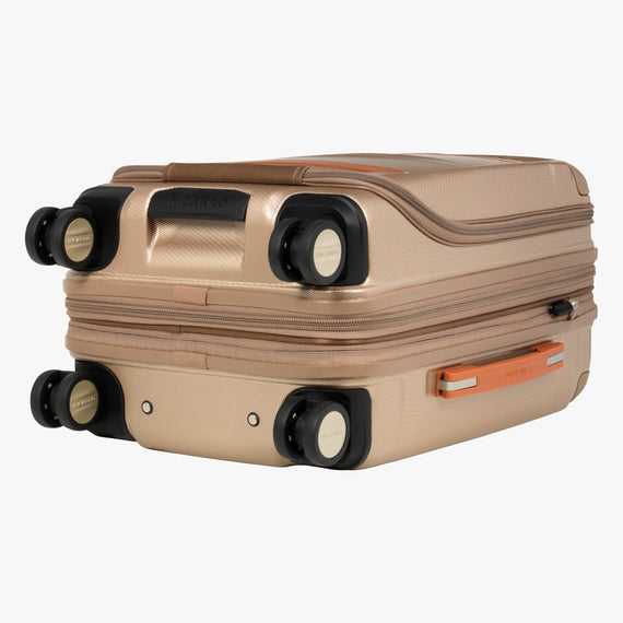 Mobile Office Carry-On Ocean Drive 19-inch Mobile Office in Sandstone Bottom View in  in Color:Sandstone in  in Description:Bottom