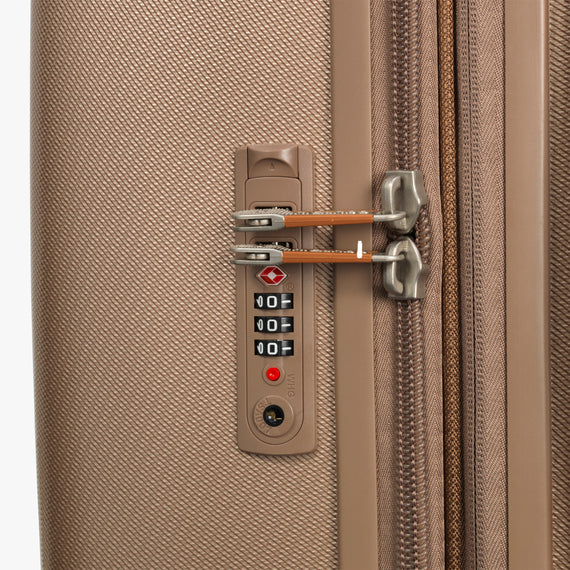 Large Check-In Ocean Drive 29-inch Check-In Suitcase in Sandstone TSA Lock in  in Color:Sandstone in  in Description:TSA Lock