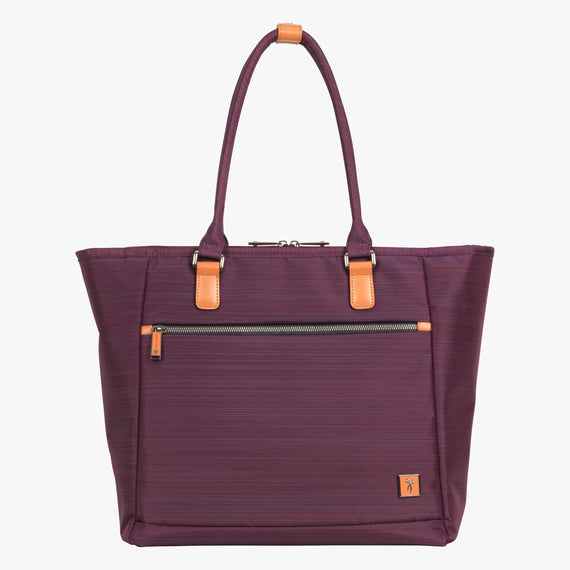 Travel Tote San Marcos Travel Tote in Violet Front View in  in Color:Violet in  in Description:Front