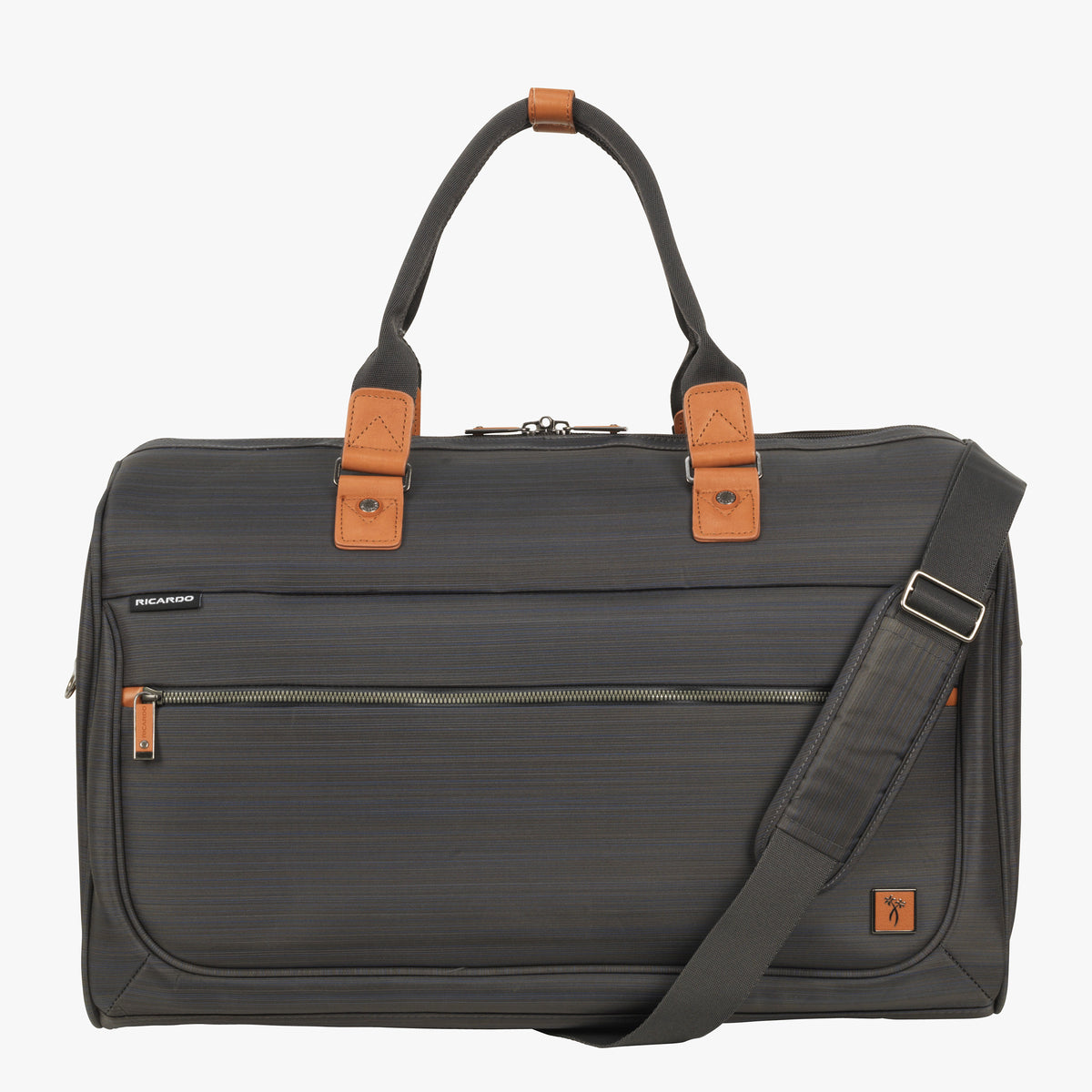 Duffel San Marcos 20-Inch Weekender Duffel in Grey Front View in in Color   ... 1a9ae48287e9b