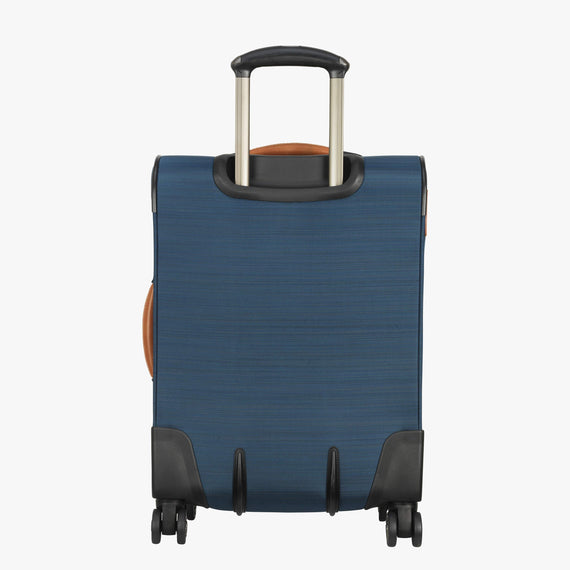 Carry-On Ricardo Beverly Hills 21-inch Carry-On Spinner Upright in Midnight Teal in  in Color:Midnight Teal in  in Description:Back