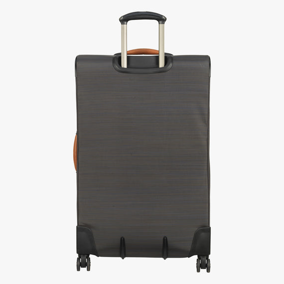 Large Check-In San Marcos 29-inch Check-In Suitcase in Grey Back View in  in Color:Grey in  in Description:Back