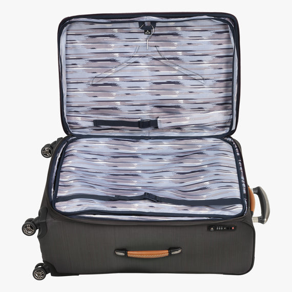 Large Check-In San Marcos 29-inch Check-In Suitcase in Grey Alternate Open View in  in Color:Grey in  in Description:Open Detail