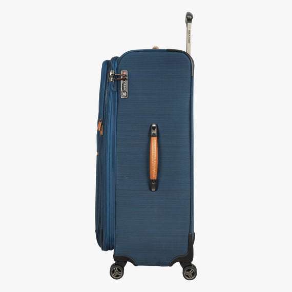 Large Check-In Ricardo Beverly Hills 29-Inch Spinner Upright in Midnight Teal in  in Color:Midnight Teal in  in Description:Side