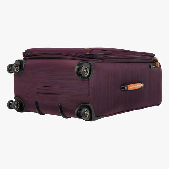 Large Check-In San Marcos 29-inch Check-In Suitcase in Violet Bottom View in  in Color:Violet in  in Description:Bottom