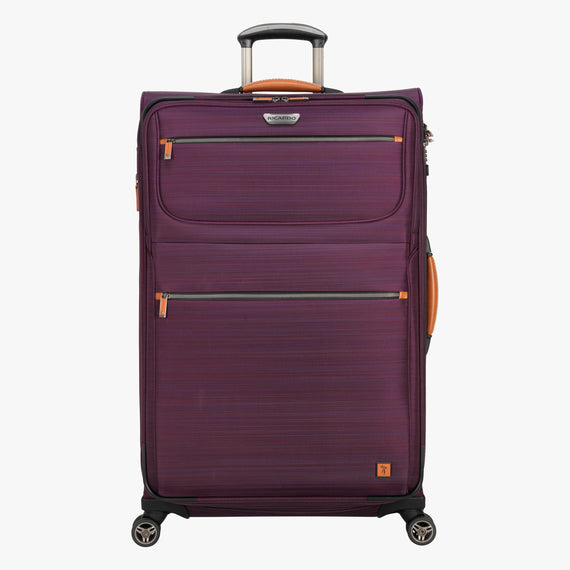 Large Check-In San Marcos 29-inch Check-In Suitcase in Violet Front View in  in Color:Violet in  in Description:Front