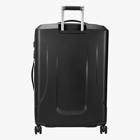 Large Check-In Cupertino 29-inch Check-In Suitcase in Black Back View in  in Color:Black in  in Description:Back