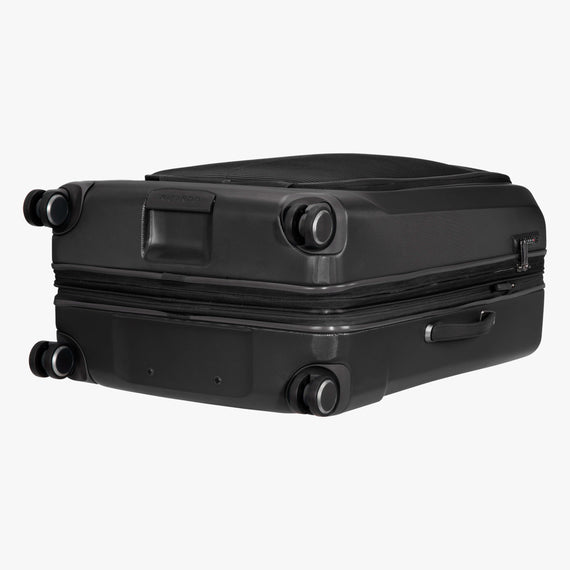 Large Check-In Cupertino 29-inch Check-In Suitcase in Black Bottom View in  in Color:Black in  in Description:Bottom