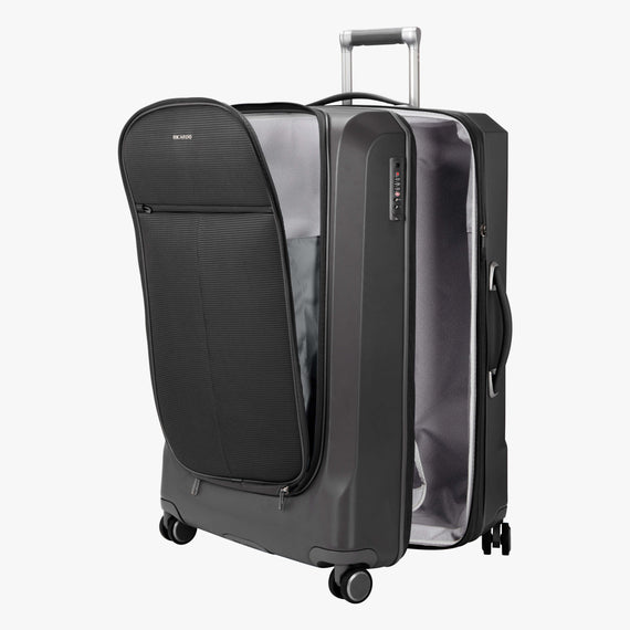 Large Check-In Cupertino 29-inch Check-In Suitcase in Black Alternate Open View in  in Color:Black in  in Description:Open Detail