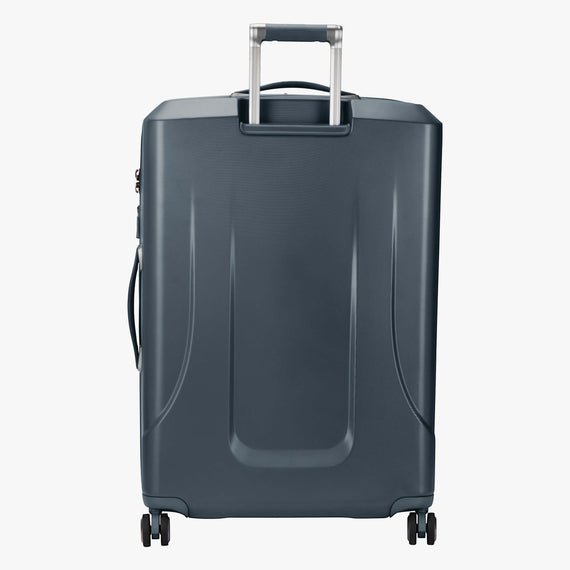 Large Check-In Cupertino 29-inch Check-In Suitcase in Winter Blue Back View in  in Color:Winter Blue in  in Description:Back