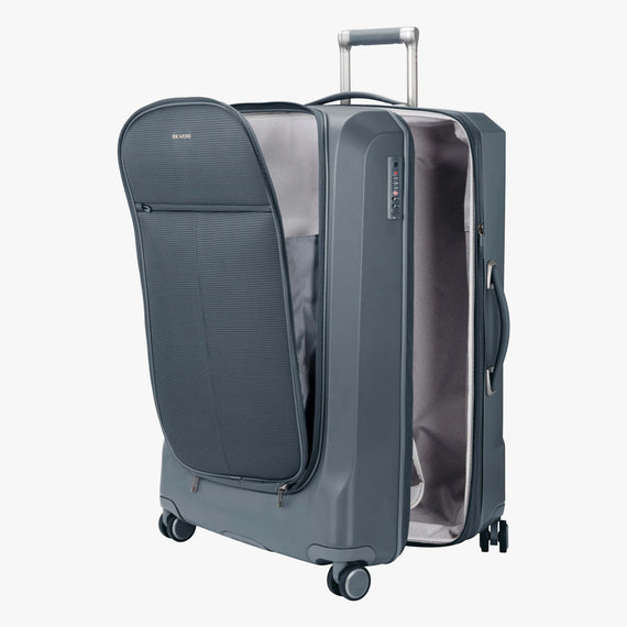 Large Check-In Cupertino 29-inch Check-In Suitcase in Winter Blue Alternate Open View in  in Color:Winter Blue in  in Description:Open Detail