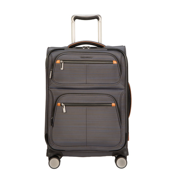 Carry-On Montecito 21-inch Carry-on in Gray Front View in  in Color:Gray in  in Description:Front