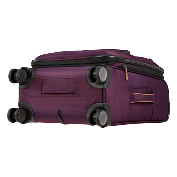 Carry-On Montecito 21-inch Carry-on in Purple Bottom View in  in Color:Purple in  in Description:Bottom