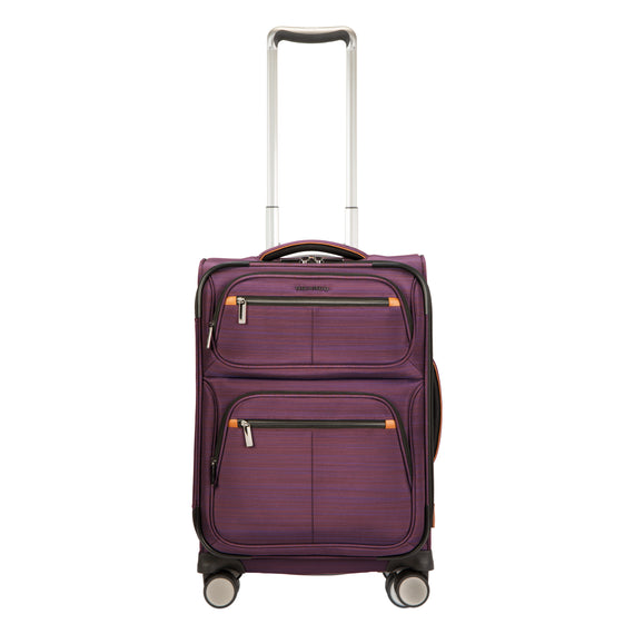 Carry-On Montecito 21-inch Carry-on in Purple Front View in  in Color:Purple in  in Description:Front
