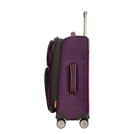 Carry-On Montecito 21-inch Carry-on in Purple Side View in  in Color:Purple in  in Description:Side