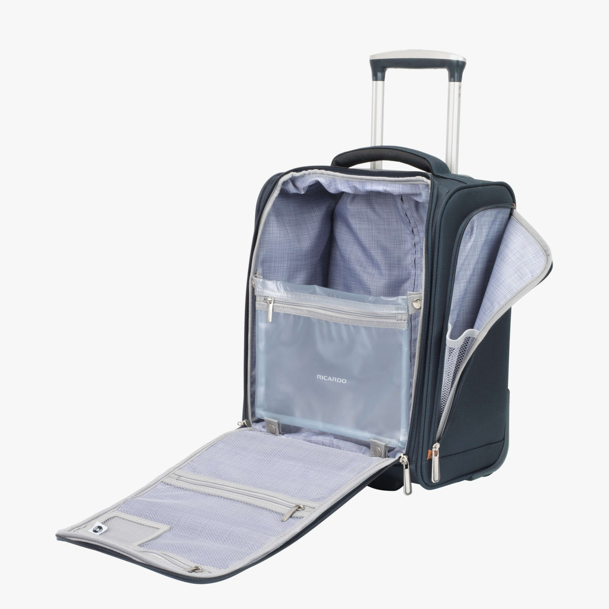 4b1a7b4fa314 Sausalito Compact Carry on Luggage with Wheels – Ricardo Beverly Hills