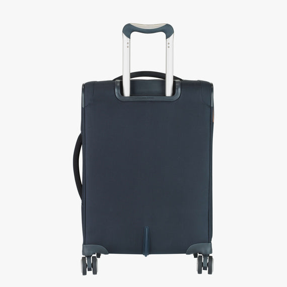 Carry-On Sausalito 21-inch Carry-on in Midnight Blue Back View in  in Color:Midnight Blue in  in Description:Back