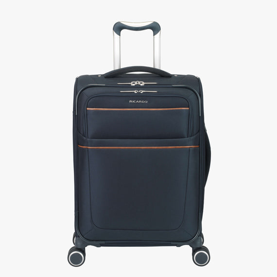 Carry-On Sausalito 21-inch Carry-on in Midnight Blue Front View in  in Color:Midnight Blue in  in Description:Front