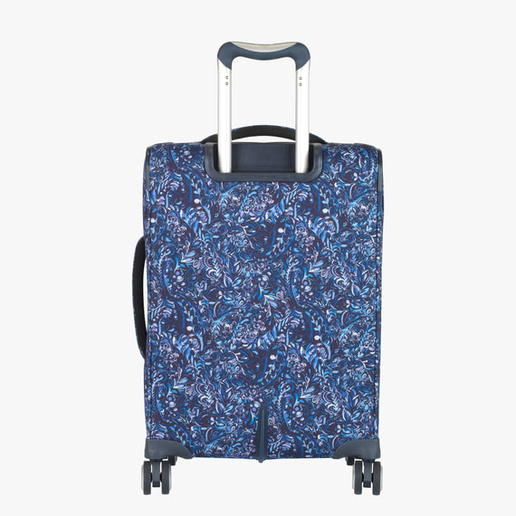 Carry-On Sausalito 21-inch Carry-on in Blue Twist Back View in  in Color:Blue Twist in  in Description:Back