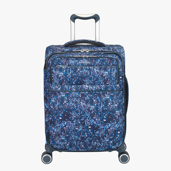 Carry-On Sausalito 21-inch Carry-on in Blue Twist Front View in  in Color:Blue Twist in  in Description:Front
