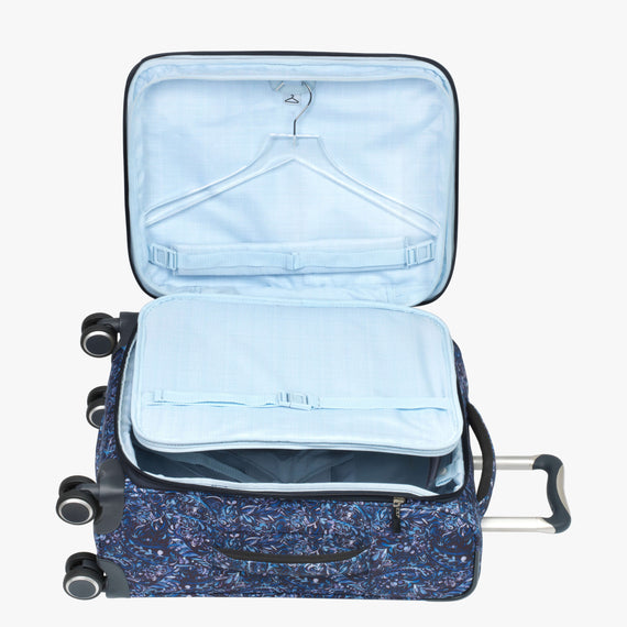 Carry-On Sausalito 21-inch Carry-on in Blue Twist Secondary Open View in  in Color:Blue Twist in  in Description:Open Detail