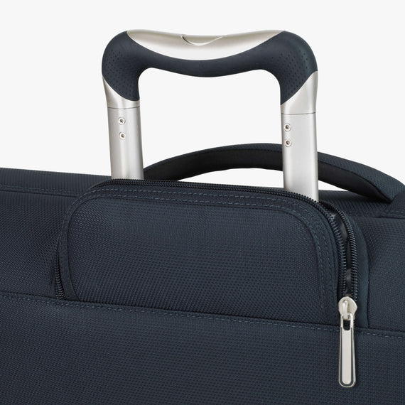 Rolling Garment Bag Sausalito 43-inch Rolling Garment Bag in Midnight Blue Handle View in  in Color:Midnight Blue in  in Description:Handle Detail