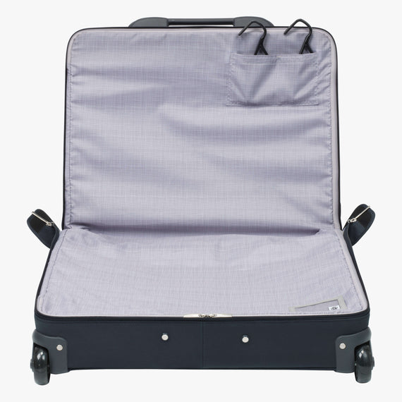 Rolling Garment Bag Sausalito 43-inch Rolling Garment Bag in Midnight Blue Open View in  in Color:Midnight Blue in  in Description:Open Detail