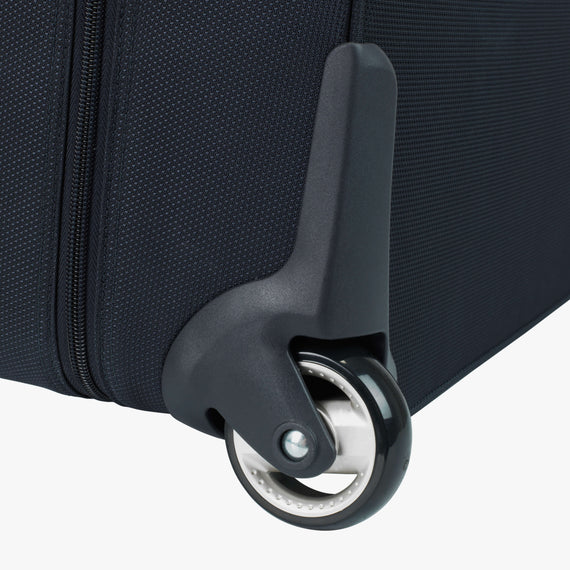 Rolling Garment Bag Sausalito 43-inch Rolling Garment Bag in Midnight Blue Wheel View in  in Color:Midnight Blue in  in Description:Wheel Detail