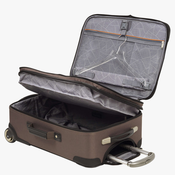 2-Wheel Carry-On Ricardo Beverly Hills 21-inch 2-Wheel Carry-On Upright in Chanterelle in  in Color:Chanterelle in  in Description:Extra Open View