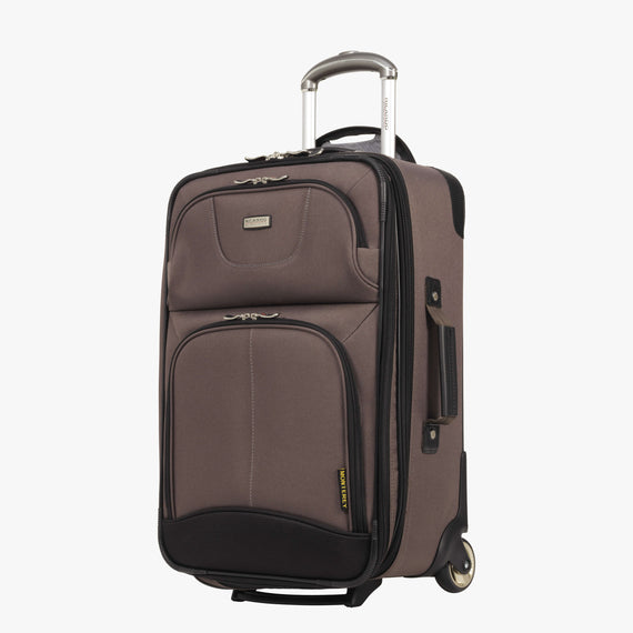 2-Wheel Carry-On Ricardo Beverly Hills 21-inch 2-Wheel Carry-On Upright in Chanterelle in  in Color:Chanterelle in  in Description:Angled View