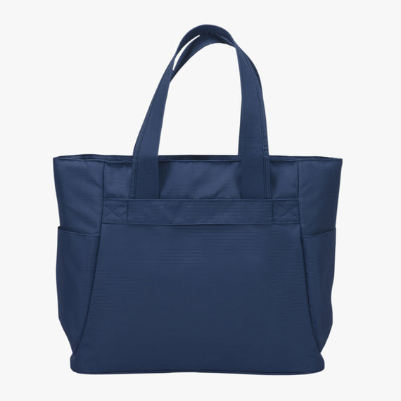 Travel Tote Delano Travel Tote in Patriot Blue Back View in  in Color:Patriot Blue in  in Description:Back