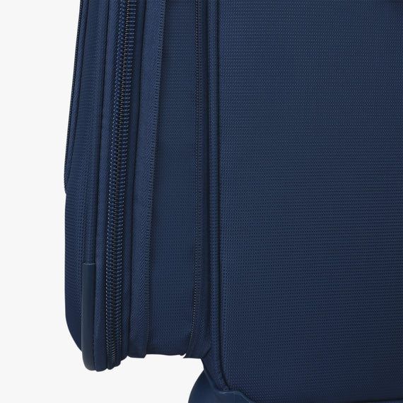 Medium Check-In Delano 25-inch Check-In Suitcase in Patriot Blue Expansion View in  in Color:Patriot Blue in  in Description:Expansion