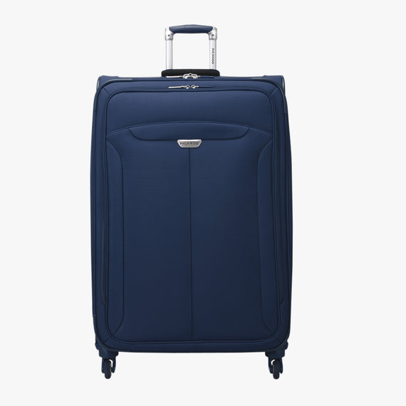 Large Check-In Delano 29-inch Check-In Suitcase in Patriot Blue Front View in  in Color:Patriot Blue in  in Description:Front