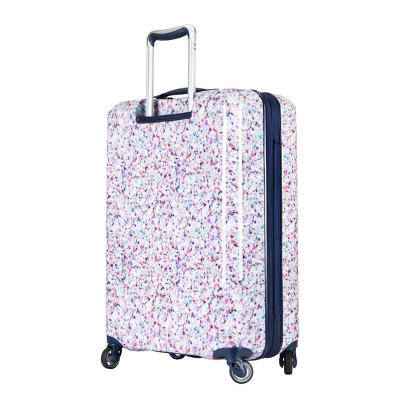 Medium Check-In Beaumont Medium Check-in Suitcase in Confetti Back Angle View in  in Color:Confetti in  in Description:Back Angle