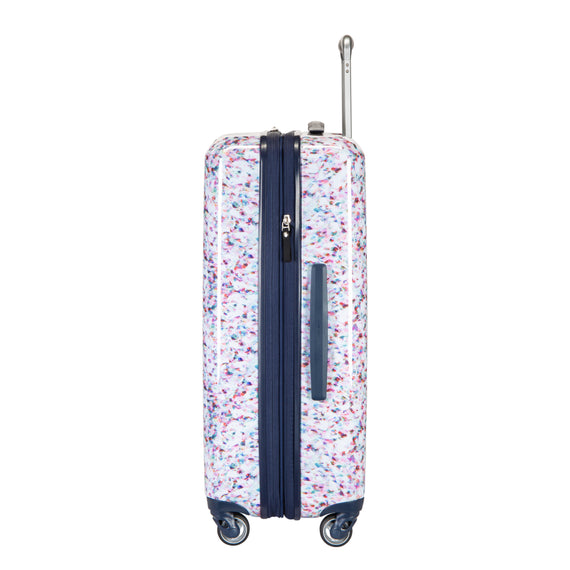 Medium Check-In Beaumont Medium Check-in Suitcase in Confetti Side View in  in Color:Confetti in  in Description:Side