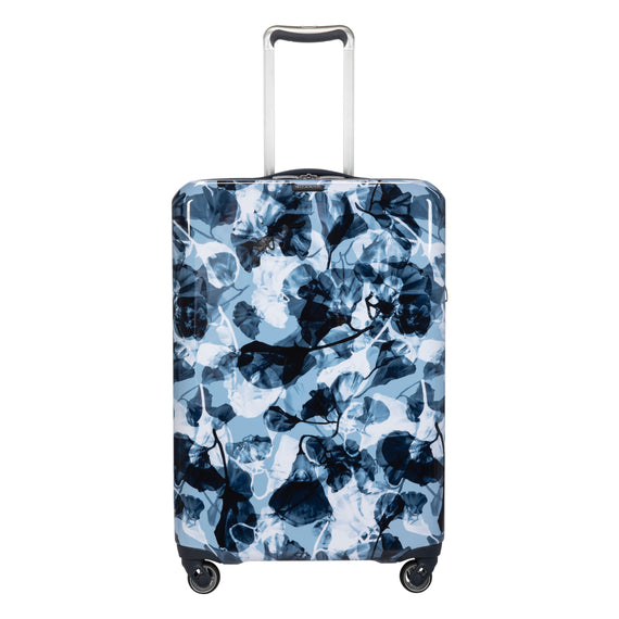 Medium Check-In Beaumont Medium Check-in Suitcase in Blue Gingko Front View in  in Color:Blue Gingko in  in Description:Front