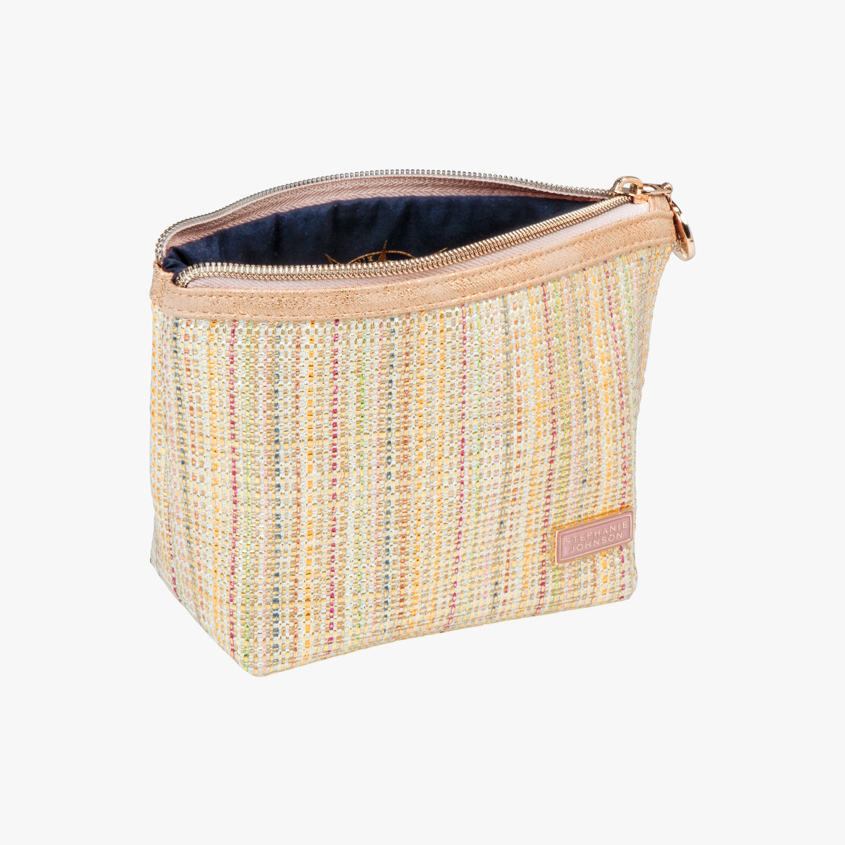 9be11dfea2b327 ... Laura Small Trapezoid Bag Laura Small Trapezoid Bag in Jakarta - Gold  Opened View in in ...
