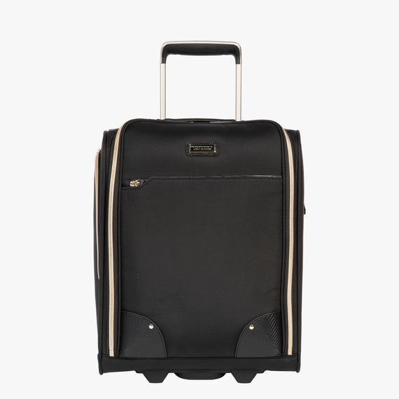 Small Carry-On Stephanie Johnson Under-Seat Carry-On in Black in  in Color:Black in  in Description:Front