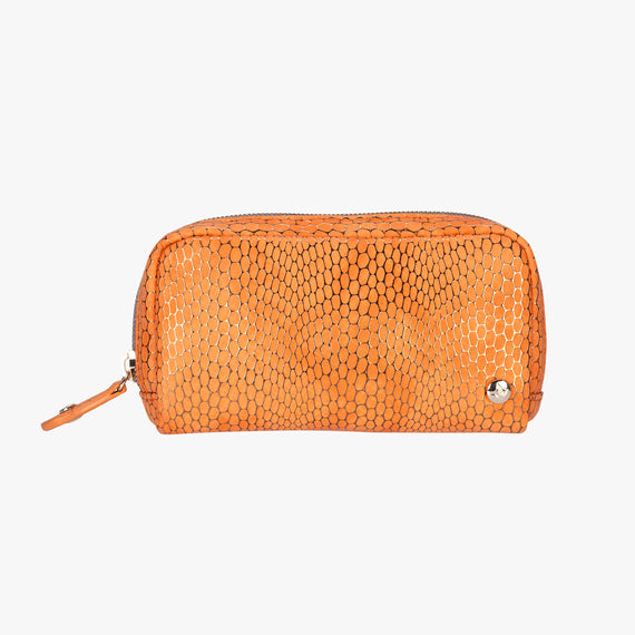 OLD-Mini Pouch Havana Mini Pouch in Orange main View in  in Color:Orange in  in Description:Front