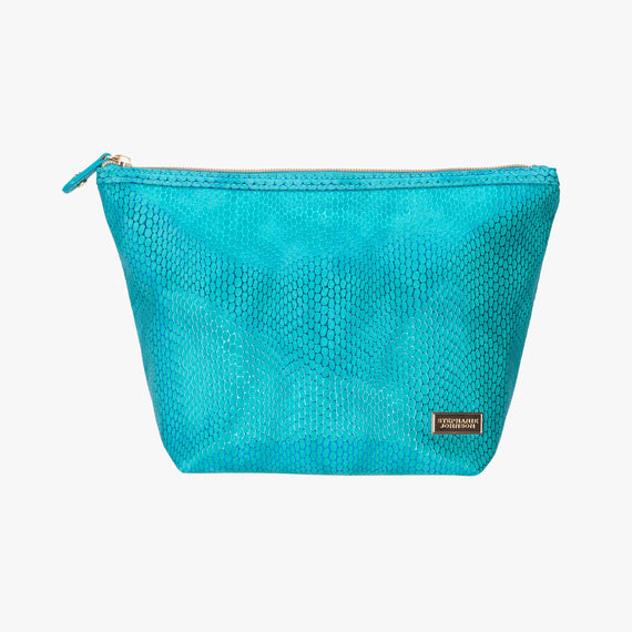 Laura Large Trapezoid Bag - Havana Havana Laura Trapezoid Bag in Blue main view in  in Color:Blue in  in Description:Front
