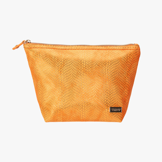 Laura Large Trapezoid Bag - Havana Havana Laura Trapezoid Bag in Orange main view in  in Color:Orange in  in Description:Front