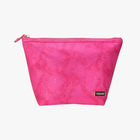 Laura Large Trapezoid Bag - Havana Havana Laura Trapezoid Bag in Pink main view in  in Color:Pink in  in Description:Front