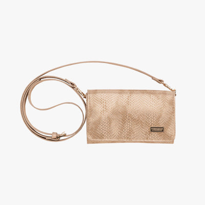Havana Brittany Crossbody Wallet in Sand main view~~Color:Sand~~Description:Front