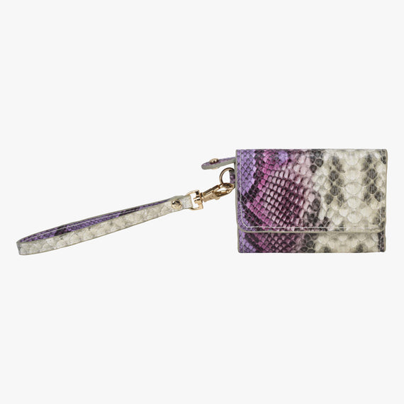 Loren Wristlet Wallet - Java Java Loren Wristlet Wallet in Plum Main View in  in Color:Plum in  in Description:Front